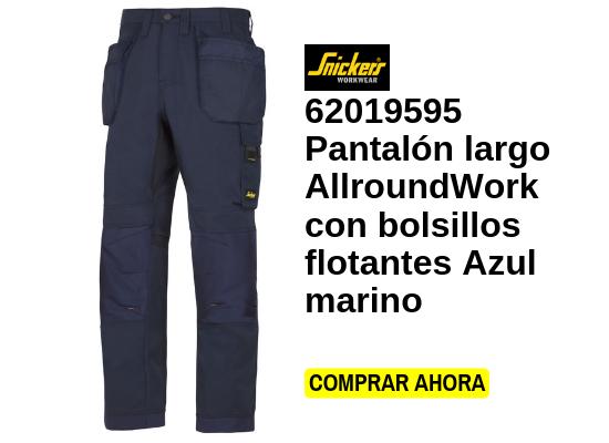 pantalón largo allroundwork con bolsillos flotantes azul marino